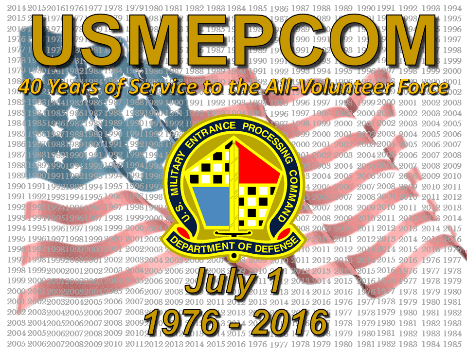 USMEPCOM 40th Anniversary