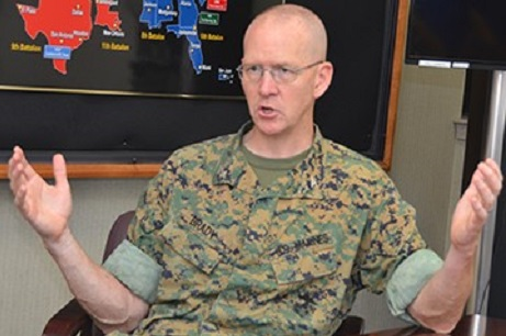 New Commander Says USMEPCOM Has 'best mission there is'