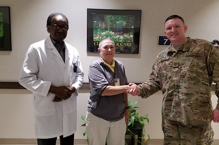 Fort Jackson MEPS Physician Credited With Potentially Saving Applicant's Life