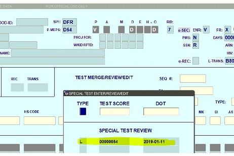 New App Allows Electronic Cyber Test Score Transmission