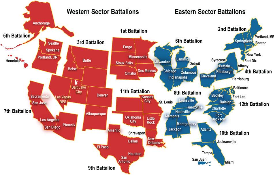 Battalion Meps Locator
